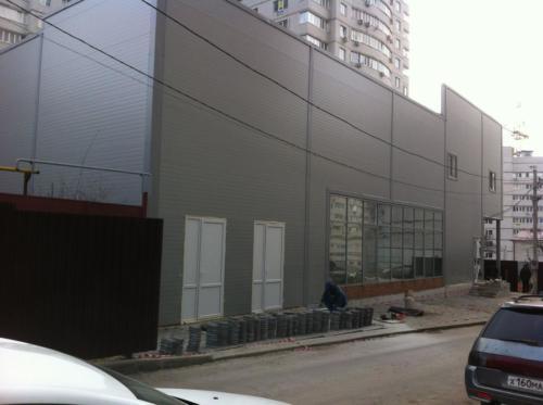 Здание магазина Пятерочка